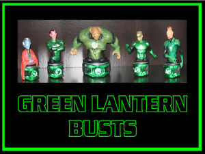 Green Lantern Porcelain Busts
