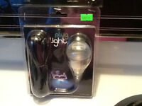 """Plug light 1/2"""" blue in Color,still in the package $70 or trade"""