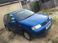VW Polo 1.4, 2001 Match, *Needs MOT*