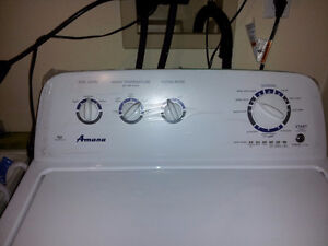 Amana HE top loader washer