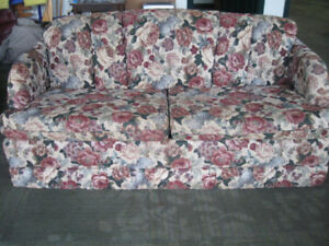 RV Loveseat Sofa Bed and Arm Chairs
