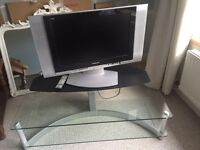 Panasonic flat screen TV with stand