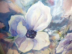 "Floral, Still Life, Original Watercolor by Gina Boyle ""Poppies"" Stratford Kitchener Area image 3"