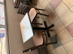 Restaurant Tables & chairs sets
