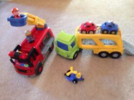 ELC happy land vehicles x2