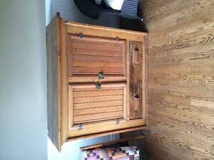 Antique Jam Cupboard