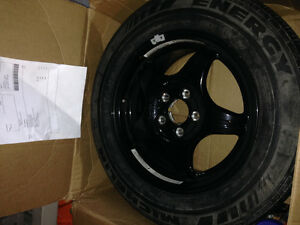 Spare tire and wheel