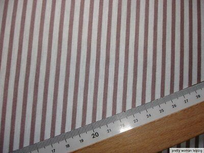 1 Lfm Single-Jersey 2,63€/m²  gestreift  160cm breit FA56