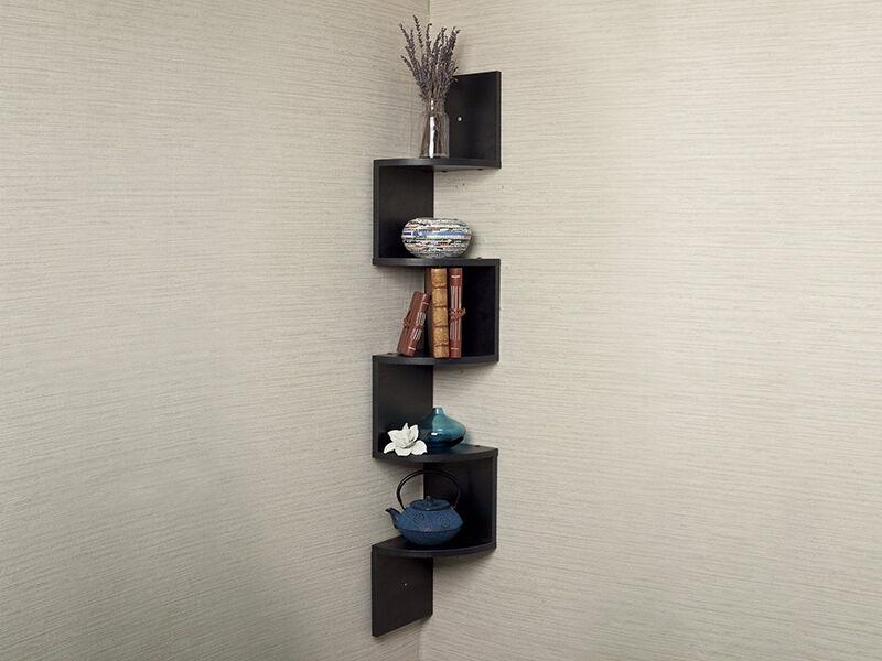 how to build a floating corner shelf ebay. Black Bedroom Furniture Sets. Home Design Ideas