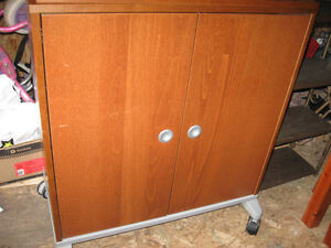Nice cabinet with two shelves inside