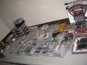 HUGE COLLECTION OF NASCAR CARDS, PICTURES, BOX SETS