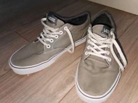 Grey Vans Shoes. Size 6.5. Euro 40