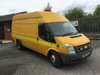 Ford Transit 350 140 ps jumbo air con 91k workshop