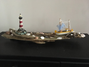 HANDCRAFTED NAUTICAL DRIFTWOOD DECOR