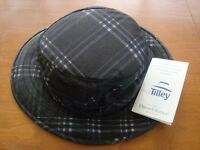 "TILLEY ""OUTBACK"" PLAID HAT - MEN'S SIZE: 7 1/4"