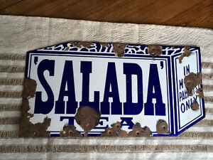 Salada Tea Sign