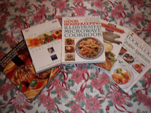5 COOKBOOKS ALL FOR ONLY $8.00