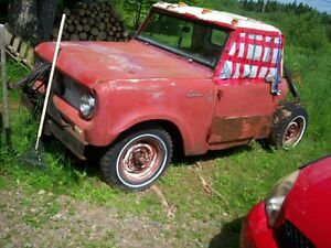 Old International Scout project plus other toys for sale