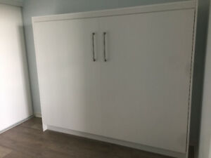Murphy Bed, White Ecowallbed