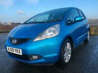 2009 Honda Jazz 1.4 i-VTEC EX 5dr HATCHBACK Petrol Manual