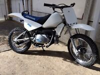 Kids Dirt Bike .Pw yamaha/ jianshe Py80 8hrs use only.Mint. I love