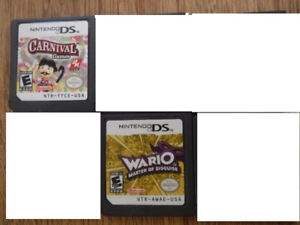 ds games ( cartridges only )