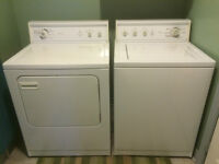 Kenmore Extra Capacity Washer and Dryer