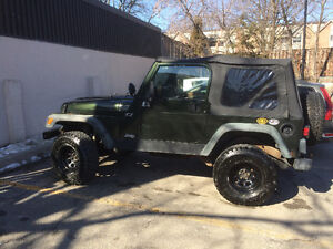 1997 Jeep TJ Soft Top Get ready for summer!