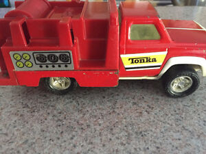 TONKA-FIRE SUPPORT TRUCK 606-CIRCA 1970-USED