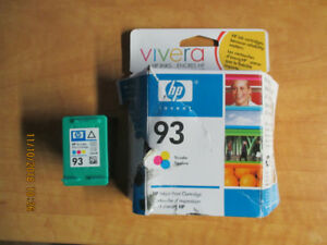 New HP 93 Tri-color ink cartridge