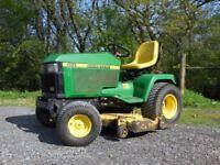 John Deere 455 Diesel mower WANTED FOR PARTS....
