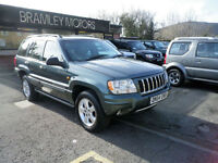 2004 Jeep Grand Cherokee 2.7 CRD Auto *RARE OVERLAND EDITION * EXCELLENT EXAMPLE