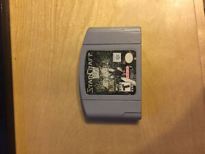 Starcraft 1 and Broodwar Expansion for N64 (collectible)