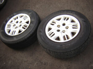 Dodge Caravan Tires/Rims 215/70R15 M+S