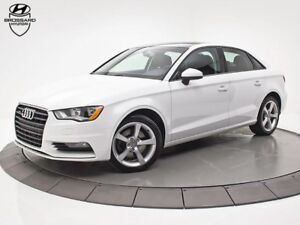 2016 Audi A3 2.0T QUATTRO TOIT OUVRANT CUIR MAGS