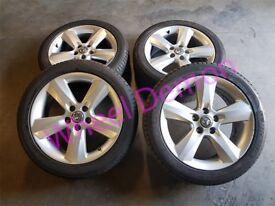 Vauxhall Meriva Astra Zafira 17'' Alloy Wheels Michelin 225/45R17 Tyres