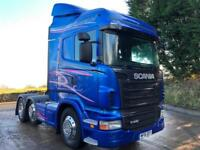 2012 Scania R440 euro 5 Highline 6x2 tractor unit metalic paint cream leather