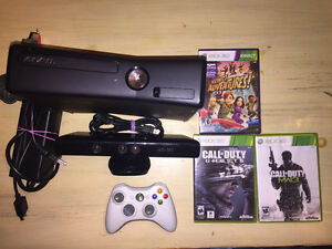 Console XBOX 360 + Kinect