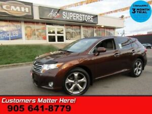 2011 Toyota Venza Base  V6 AWD LEATHER ROOF HTD-SEATS 20 -ALLOYS