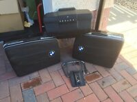 BMW panniers, top box and fittings.