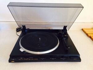 Vintage JVC AL-F3 Fully Automatic Direct Drive Turntable