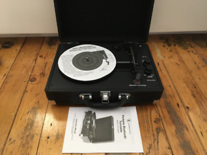 Portable record player turntable with bluetooth - like Crosley