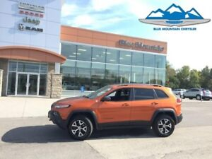 2016 Jeep Cherokee Trailhawk  DEALER INSPECTED, WARRANTY, TRAILH