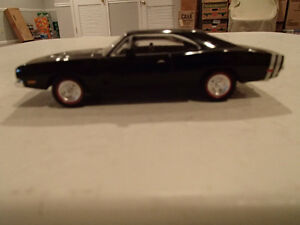 LOOSE 1968 Dodge Charger RT - Black - Dimension 4 Hot Pursuit