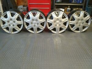 "17"" Steel Rims with Wheel Covers  $40"