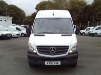Mercedes-Benz Sprinter 313 CDI LWB 3.5t High Roof Van DIESEL MANUAL WHITE (2016)