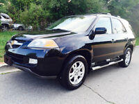 2004 ACURA MDX, 7 PASSENGER, LEATHER,SUNROOF,NAVI,DVD, LOADED!