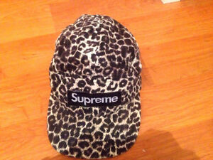 Authentic Supreme 5-Panel Adjustable Hat SS2011 Collection