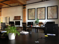 Downtown/Fashion District Desk Space Available Immediately