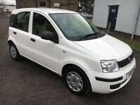 1111 Fiat Panda 1.2 Euro V Active 69 White 5 Door 49077mls MOT Nov 18 £30 Tax
